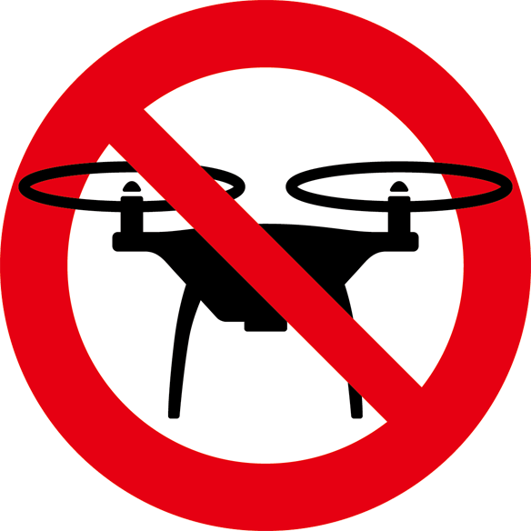 無人飛行機禁止